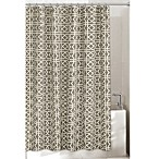 Lattice Grey 72-Inch x 72-Inch Shower Curtain