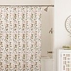Zen Floral 70-Inch x 72-Inch Shower Curtain