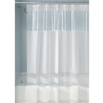 InterDesign® Hitchcock Rugby 72-Inch x 72-Inch Shower Curtain in Frost