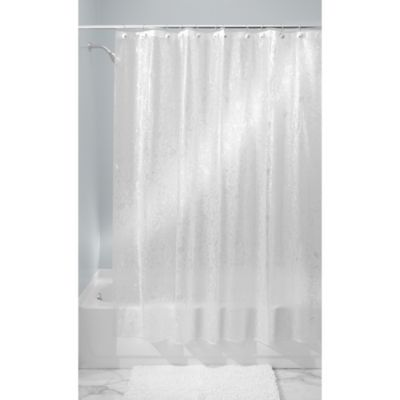 InterDesign® Floret 71-Inch x 71-Inch Shower Curtain in Frost