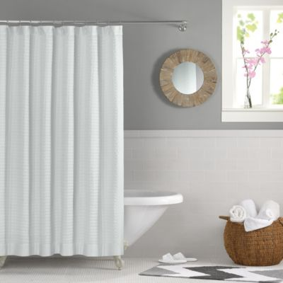 Real Simple® Retreat 72-Inch x 72-Inch Shower Curtain in White