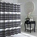 Drama 70-Inch x 72-Inch Lace Shower Curtain