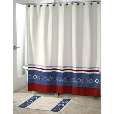 Avanti Life Preservers II 72-Inch x 72-Inch Shower Curtain