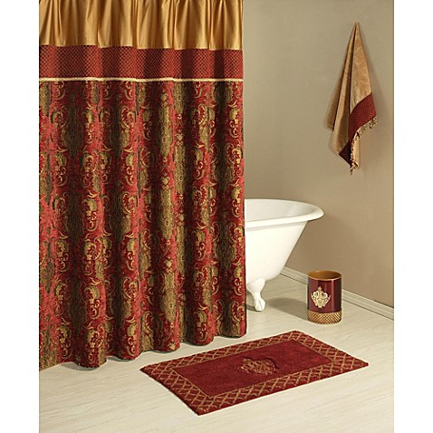 Bunk Bed Tents And Curtains Burgundy Rose Shower Curtain
