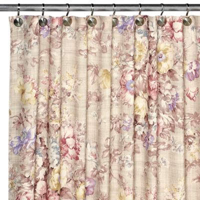 Brigitte 70-Inch x 72-Inch Shower Curtain in Multi-Color