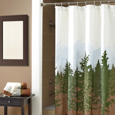 Croscill Wilderness Shower Curtain