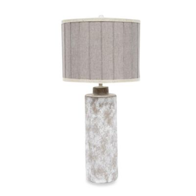 Ceramic Table Lamp in Basalt
