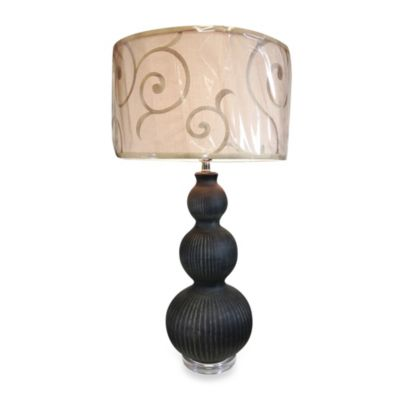 1-Light Ceramic Table Lamp