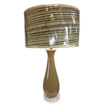 Ceramic Table Lamp in Ginger Finish