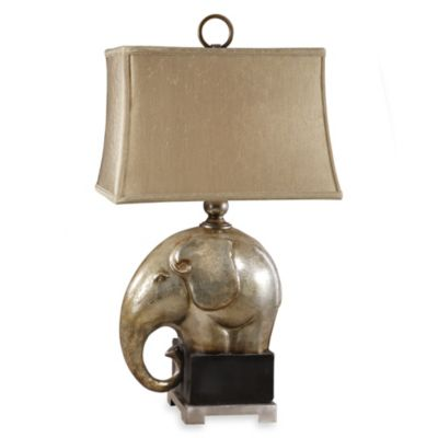 Uttermost Abayomi Antique Champagne Lamp