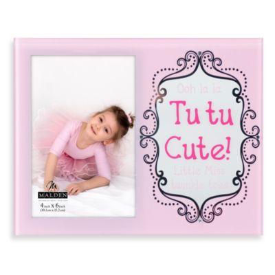 Malden® Tu Tu Cute Ballerina Picture Frame