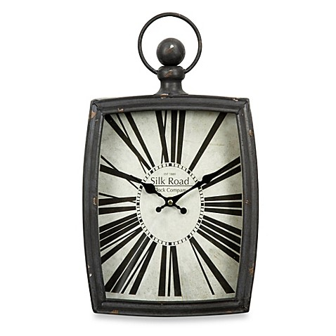 Buy Rectangular Watch Design Wall Clock From Bed Bath Amp Beyond