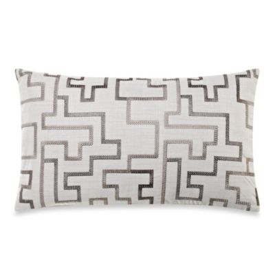 Kipri Grey Toss Pillow
