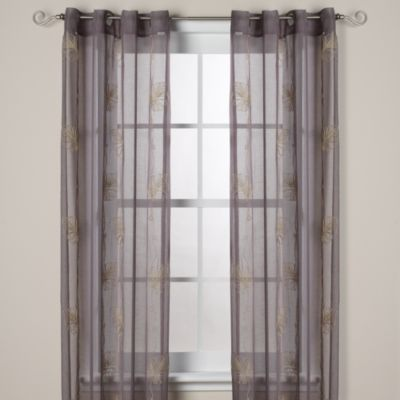 J. Queen New York™ Islander Sheer Grommet Window Curtain Panels