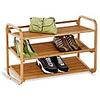 Deluxe 3-Tier Bamboo Shoe Shelf