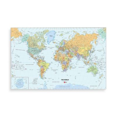 Decoration World Map