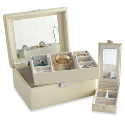 Somerset Mirror Jewelry Box