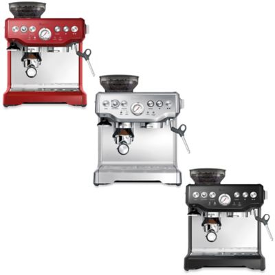Metallic Stainless Steel Coffee Machine