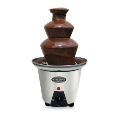 Nostalgia Electrics™ Mini Stainless Steel Chocolate Fountain