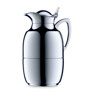 aifi® Juwel 8-Cup Chrome Plated Brass Thermal Carafe