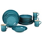 Le Creuset® 16-Piece Dining Set in Caribbean