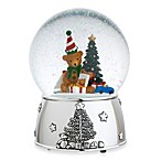 Reed & Barton®  Teddy Bear Christmas Snowglobe