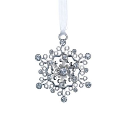 Reed & Barton® 3rd Edition Jeweled Snowflake Ornament