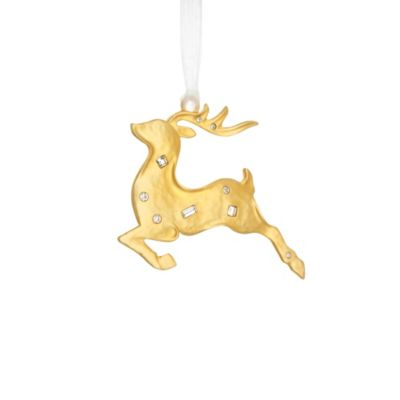 Reed & Barton® Golden Reindeer Ornament