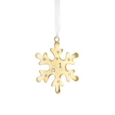 Reed & Barton® Golden Snowflake Ornament