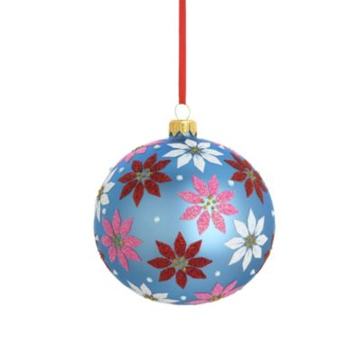 Reed & Barton® Poinsettia Ball Ornament