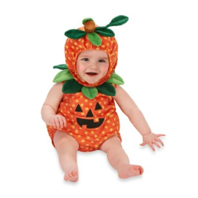 Just Pretend® Kids Pumpkin Infant Size 0 to 6 Month Romper