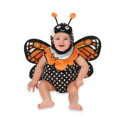 Just Pretend® Monarch Butterfly Infant Size 0-6 Months Romper