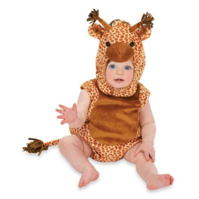 Just Pretend® Giraffe Infant Size 0-6 Months Romper