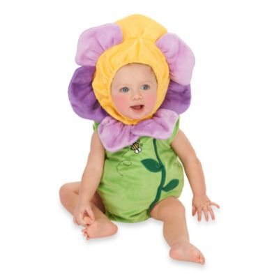 Just Pretend® Flower Pansy Infant Size 0-6 Month Romper