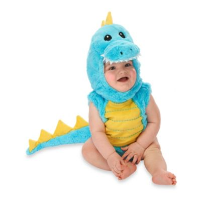 Just Pretend® Dino Infant Size 0-6 Months Romper
