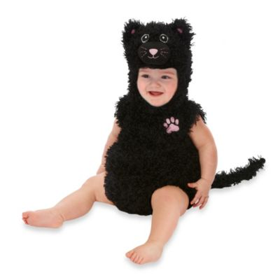Just Pretend® Black Cat Infant Size 0-6 Months Romper