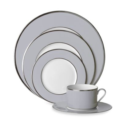 Mikasa® Color Studio Grey and Platinum 5-Piece Place Setting