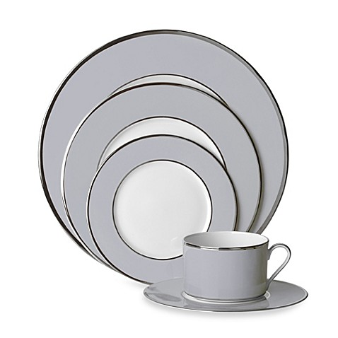 Mikasa® Color Studio Gray and Platinum Dinnerware