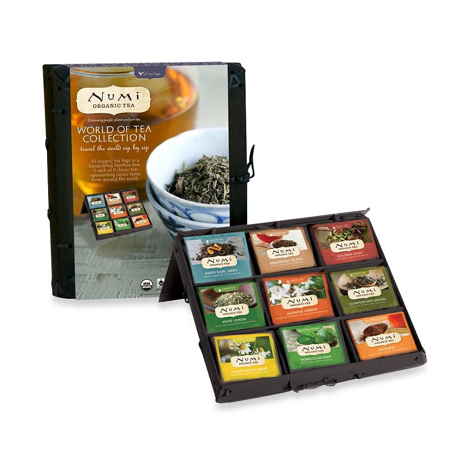 Numi® Organic Tea World of Tea Collection