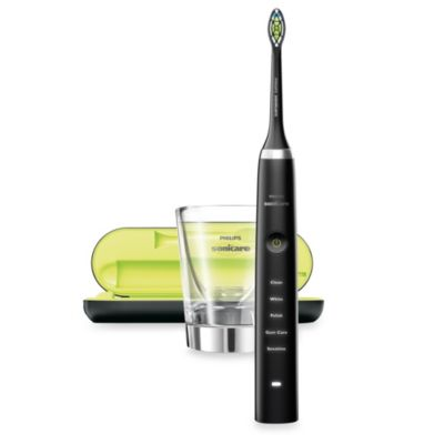 Philips Sonicare® DiamondClean Rechargeable Electric Toothbrush in Black