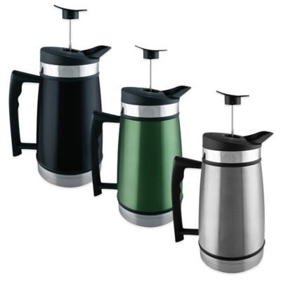 Planetary Design 48 oz. Table Top French Press in Black