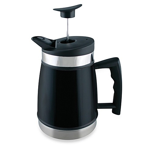 buy planetary design 32 oz table top french press in black from bed bath beyond. Black Bedroom Furniture Sets. Home Design Ideas