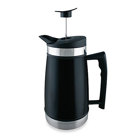 buy planetary design 48 oz table top french press in black from bed bath beyond. Black Bedroom Furniture Sets. Home Design Ideas