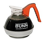 Bunn® Easy Pour Coffee Decanter with Orange Handle