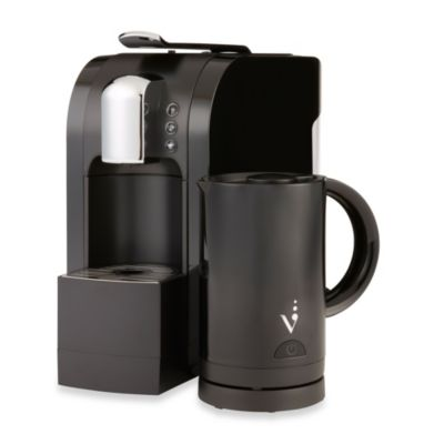 Starbucks® Verismo™ 580 Brewer & Milk Frother Bundle in Black