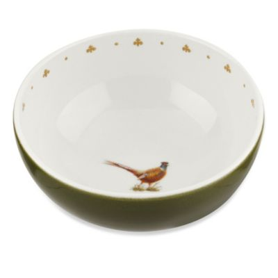 Spode® Glen Lodge Pheasant Fruit Bowl (Set of 4)