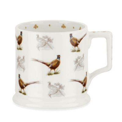 Spode® Glen Lodge Pheasant Tankard Mug (Set of 4)