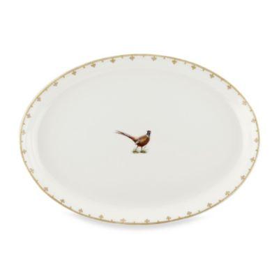 Spode® Glen Lodge Pheasant 13-Inch Oval Platter