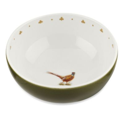 Spode® Glen Lodge Pheasant 9-5-Inch Deep Bowl