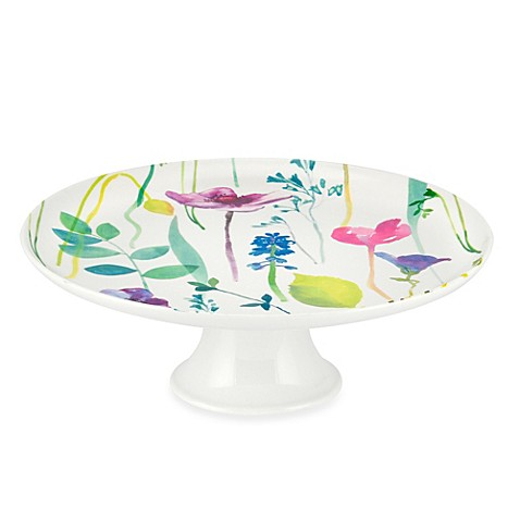 Portmeirion® Water Garden 9.75-Inch x 3.25-Inch Cake Stand